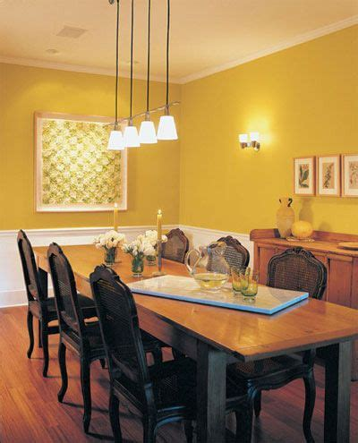 1000 ideas about yellow dining room on dining