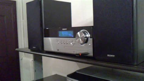my sony home micro hi fi system test