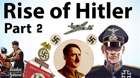 adolf hitler biography youtube rise of hitler part 2 biography of adolf hitler mein