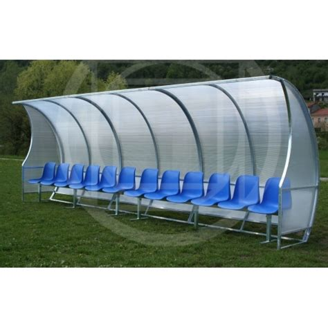 panchine per ci da calcio panchina coperta per co da calcio