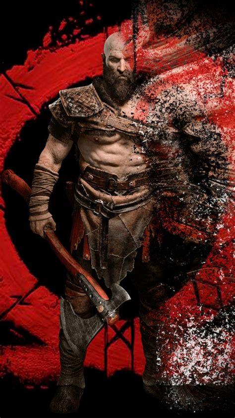kratos  god  war   ultra hd mobile wallpaper