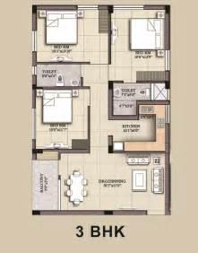 3 bhk floor plan adiilaksmi