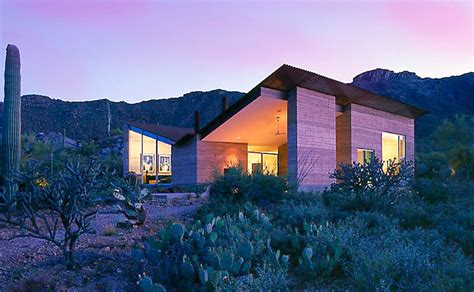 Mountain House Food private arizona residence designed by rick joy by scot