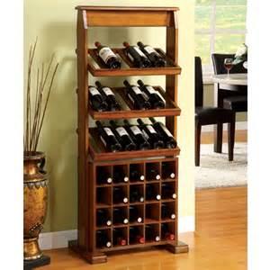 guarda antique oak 38 bottle wine rack ebay