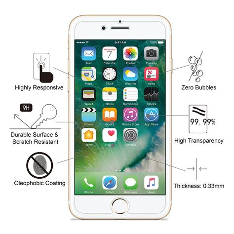 For Apple Iphone 7 Bening Hardcasegratis Tempered sản phẩm iphone 7s 7 6s 6 screen protector glass amfilm iphone 7s 7 tempered glass screen