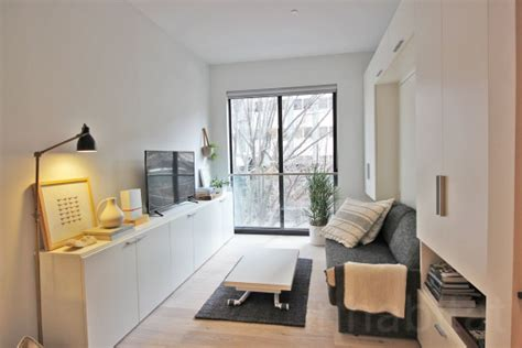 micro apartment interior design nyc s micro apartment units near completion at