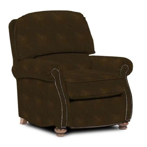 Broyhill Recliner by Broyhill Laramie Brown Recliner Chair With Attic Heirlooms