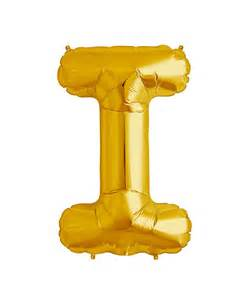 Balloon Decor Mylar 16 Quot Gold Balloons