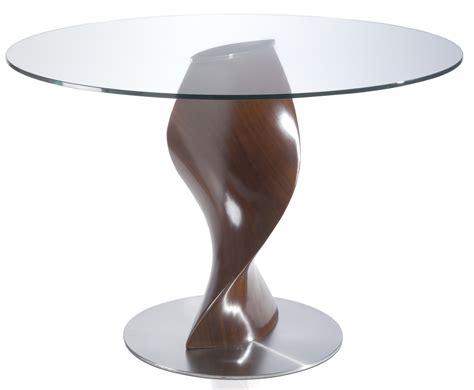 Table Ronde En Bois by Table Ronde Verre Bois Maison Design Wiblia