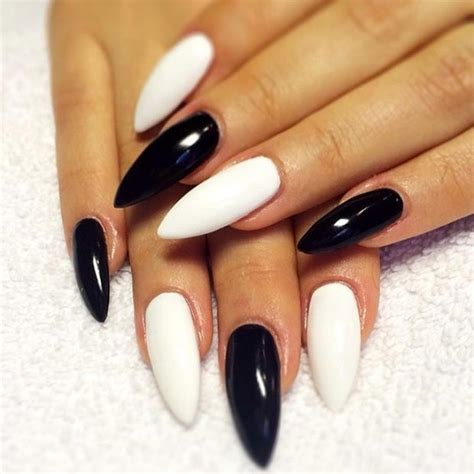 black pattern nails 50 best black and white nail designs stayglam