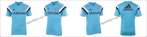 Kaos Club Bola Chelsea jersey chelsea biru muda 2014 2015 big match