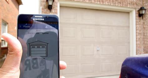 Phone Garage Door Opener Wifi Garage Door Opener Attractive Design Garage Door Opener Wifi Iphone Garage Door