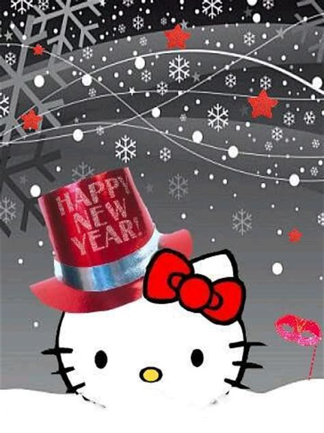 wallpaper hello kitty happy new year hello kitty new year wallpaper iphone blackberry