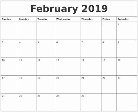 february calendar uk calendar template printable