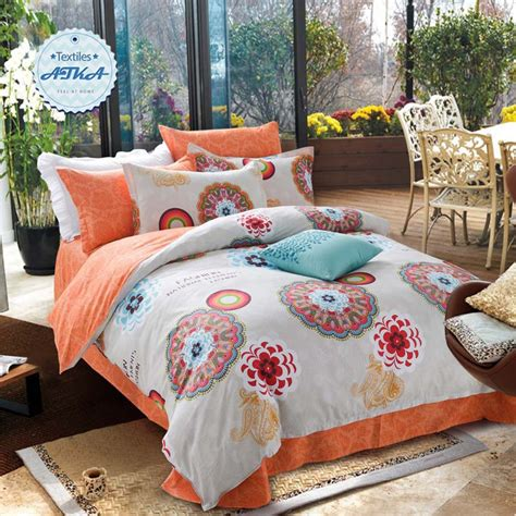 Discounted Comforter Sets by 100 Cotton Bohemian Bedding Sets 4pcs Discount