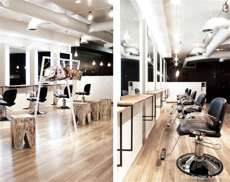 interior design stylist house design captivating hair salon interior design with black leather seat and headboard barber