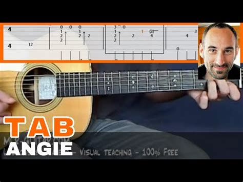 tutorial guitar angie angie guitar lesson part 2 of 4 videolike