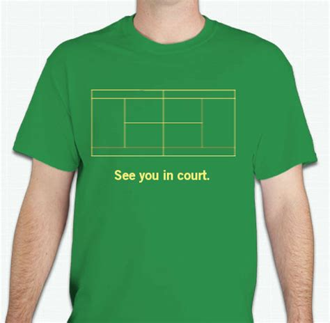 T Shirt Tennis tennis t shirts custom design ideas