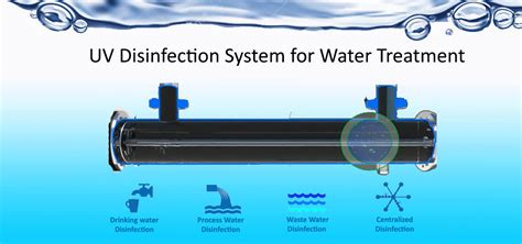 ultraviolet light water treatment systems what is uv disinfection system of water how it works