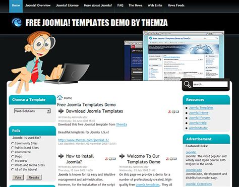 Outline Web Solutions by Web Solutions Free Joomla Template From Themza