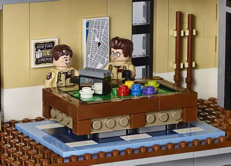 lego ghostbusters house the lego ghostbusters firehouse hq s interiors are frighteningly beautiful