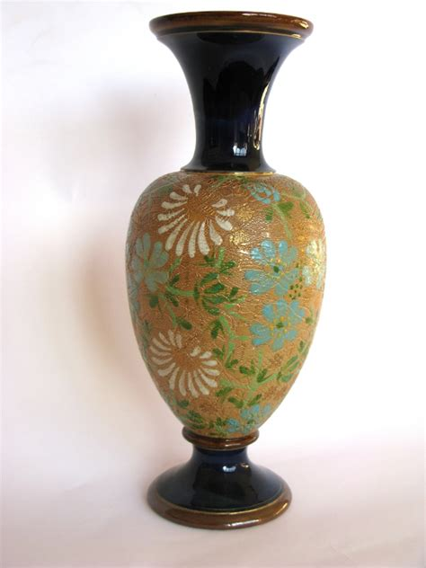 Doulton Vase by Instinct Antiques Doulton Lambeth Slaters Patent Vase