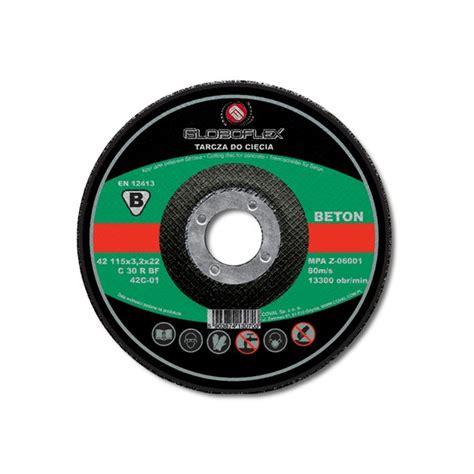beton flex tarcza beton flex 125x6 8 globoflex met bud