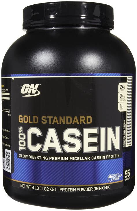 whey before bed h l athletics gold standard 100 casein protein