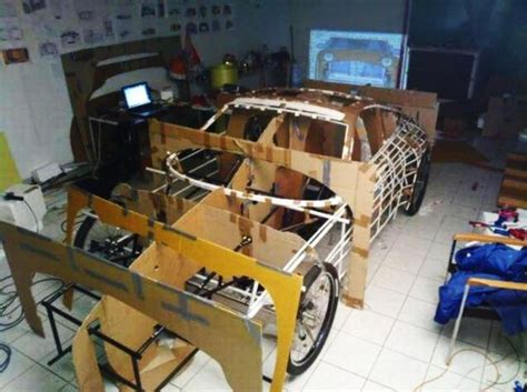 homemade europe diy design genius diy genius creates peddle powered porsche roadster