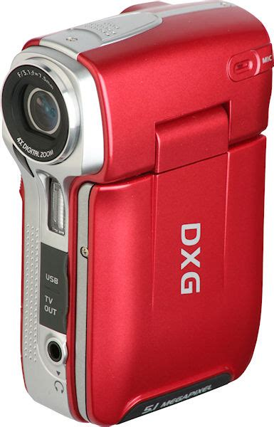 Dxg Release 5 Megapixel Camcorder Dxg 506v In Four Colours Including Black Natch by News