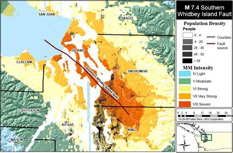 earthquake yakima washington fault lines map washington dc map