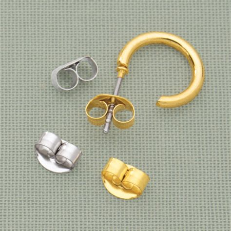 butterfly earring backs replacement earring backs easy