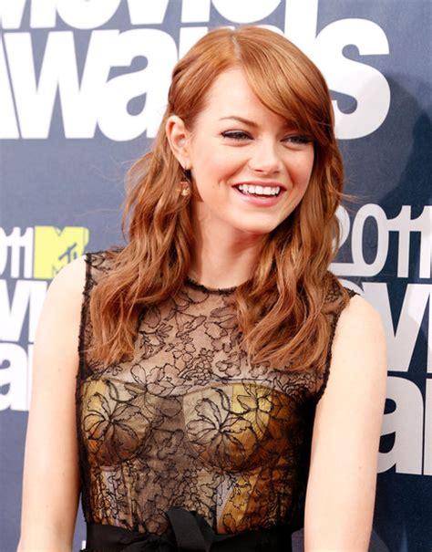 Film 2011 Emma Stone | emma stone photos photos 2011 mtv movie awards red