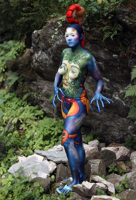 festival in portschach creativity for 2011 world bodypainting festival the
