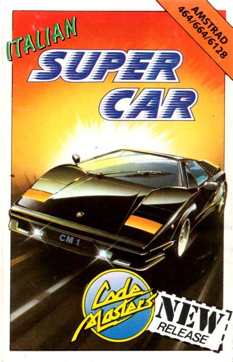Cover Motor Coversuper Size L italian supercar 1990 amstrad cpc box cover mobygames