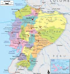 map of ecuador south america political map of ecuador ezilon maps