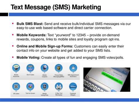 Sms Blast Corporate Presentation - mobile marketing presentation the mobile business revolution