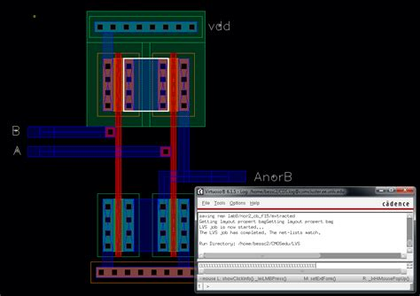 layout for nand final project ee421