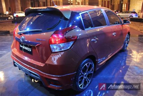 Spoiler Belakang Plastik Toyota All New Yaris Trd Baru impression review toyota yaris 2014