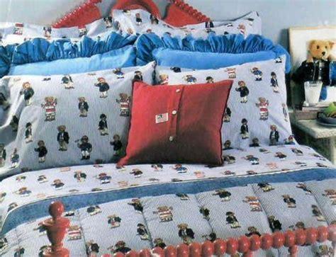 polo comforter with polo horse ralph lauren sheet polo bear ticking stripe king flat ebay