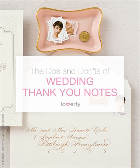 thank you letter after attending wedding wedding checklist ladymarry the dos and don ts of