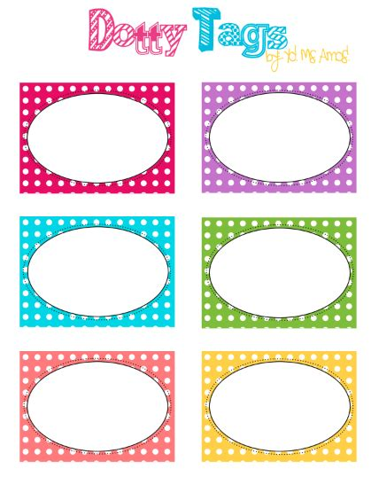 .classroom label templates download designs for teachers and students