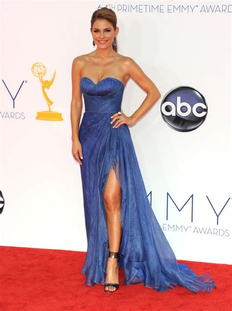 Emmys Fashion Goes White And Blue by Photos See All The Emmys 2012 Carpet Fashion