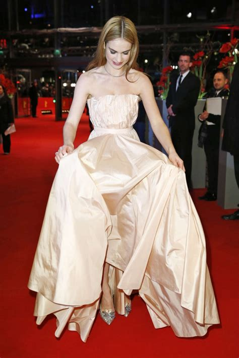 film cinderella berlin lily james in christian dior at the cinderella berlin