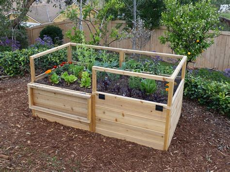 Raised Garden Fence Ideas Great Raised Bed Options Diy Network Made Remade Diy