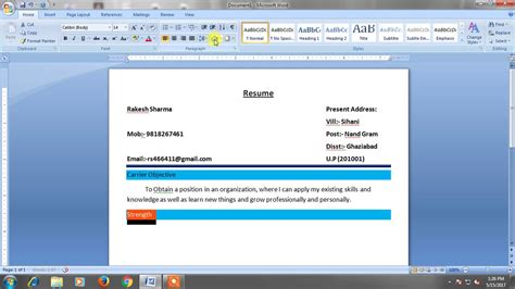 How To Make A Resume On Word 2007 by How To Make A Resume On Word Best Resume Templates