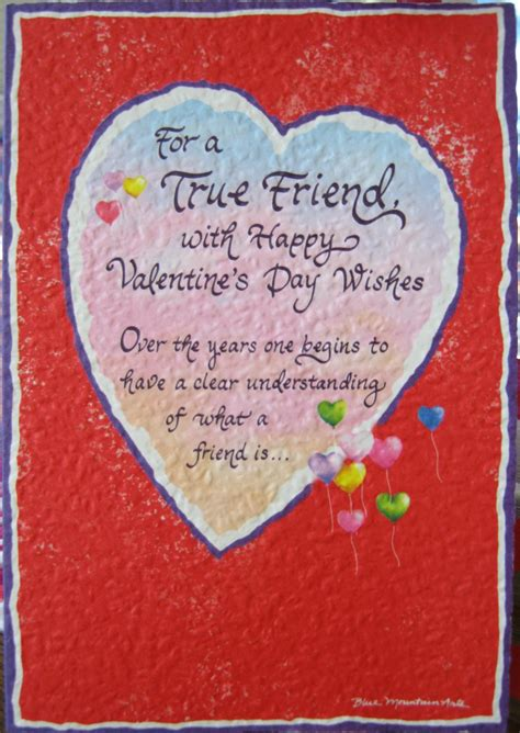 valentines day cards for friends poems for friends quotes 2016