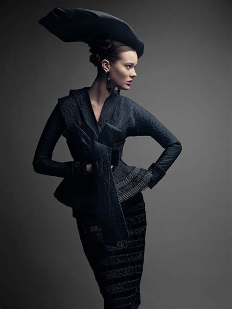 The Femme Suit Couture In The City Fashion by A History Of Couture As Photographed By
