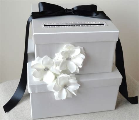 Wedding Envelope Box by Wedding Card Box White Black Envelope Box By Wrap Artist