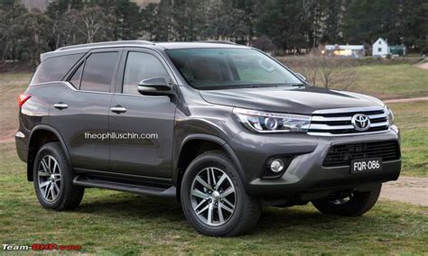 Lu Led Dakkar new toyota fortuner on test in thailand page 21
